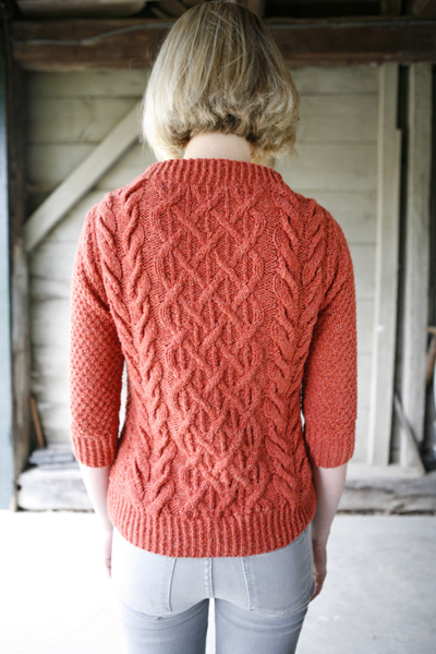 Beatnik Boat Neck Pullover Knitty Deep Fall 2010