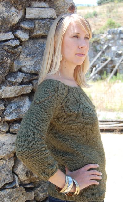 Cadence-粗线套头衫- 原文图解 - Tina - Tina的手工编织的博客