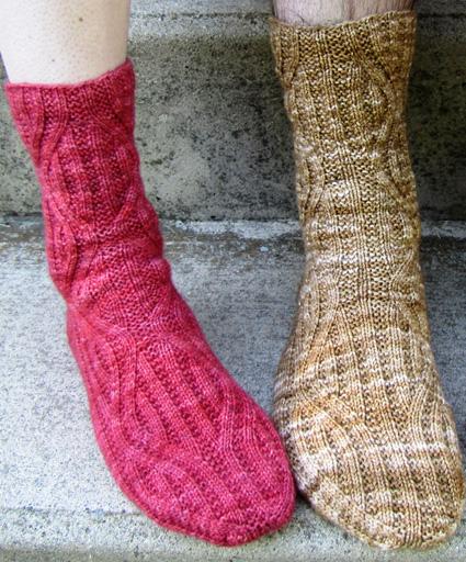 Nemesis Sock Knitty Deep Fall 2010