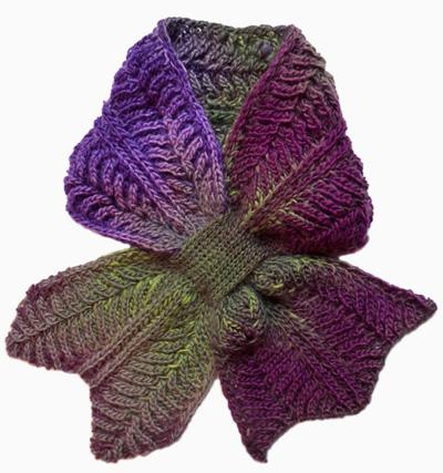 Luxury Keyhole Scarf Crochet Pattern Gift - Knitting Pattern Ideas ...