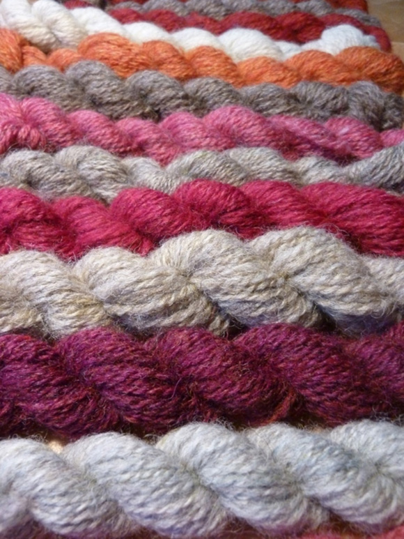Spin your own Fair Isle kit - Knittyspin Deep Fall 2011