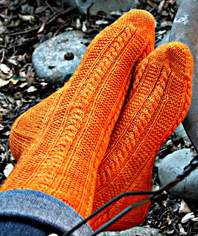 Free Knitting Pattern For Moon Socks : Stash Knit Along :: Sock Yarn Edition Stash : Stash