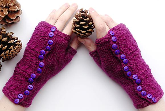 网上分享的手套图解 - 彩虹桥 - 彩虹桥