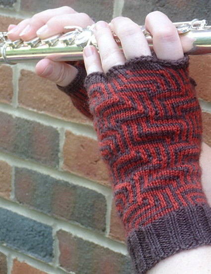 Phalangees Fingered Gloves Knitty Deep Fall 2012