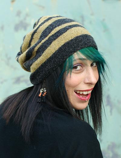 Brindled hat : Knitty.com - Deep Fall 2014