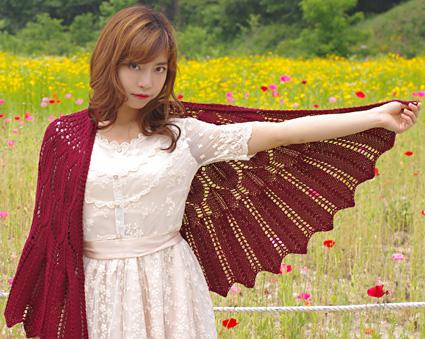 """披肩""""夜猫子的翅膀"""" - maomao - 我随心动"""