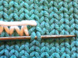 Weaving Stitches In Knitting : knitty.com