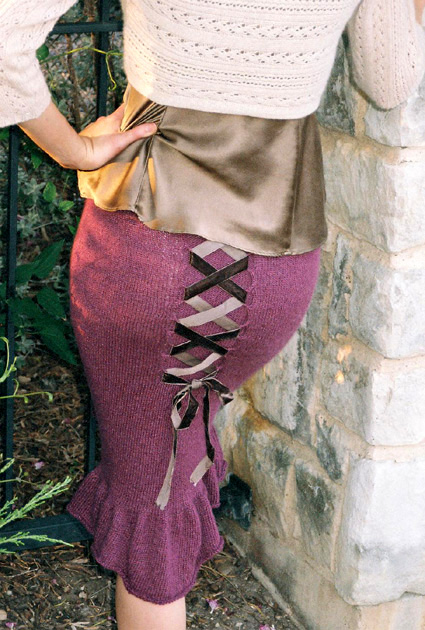 Knit Skirt Pattern Free : FREE KNITTING SKIRT PATTERNS   Free Patterns