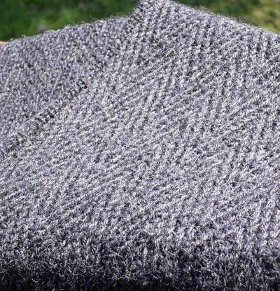 Knitting Pattern Herringbone Scarf : Week 3: Herringbone stitch   Knotting Noodles