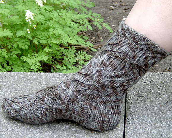 Knitty: Socks 102 - Fall 2008
