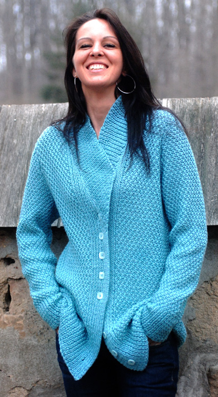 Craft Passions: Long cardigan# Free # knitting pattern ...