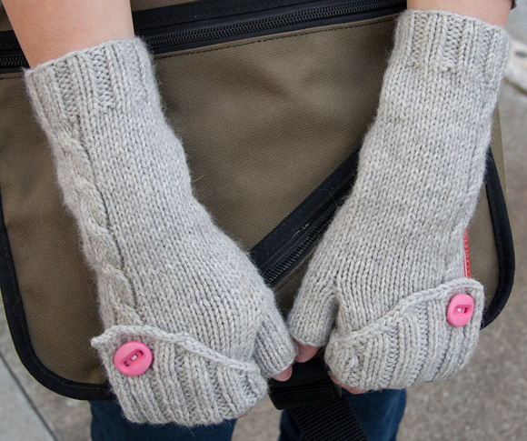Knitting Patterns For Fingerless Gloves With Mitten Cover : Fingerless Gloves Knitting Pattern Ideas You Should Try ...