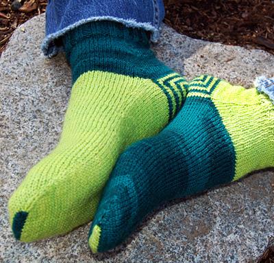 Double Heelix Sock Knitty Springsummer 2011
