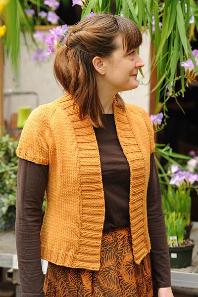 插肩叶子小披 - 编织幸福 - 编织幸福的博客