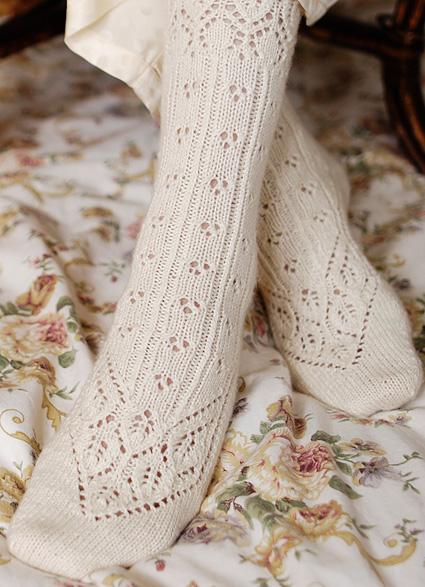 Lingerie Sock Knitty First Fall 2011
