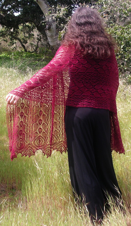 d9ef3b3b5dff Rhodion lace shawl  Knitty First Fall 2011