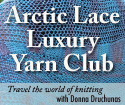 Arctic Lace Luxury Yarn Club
