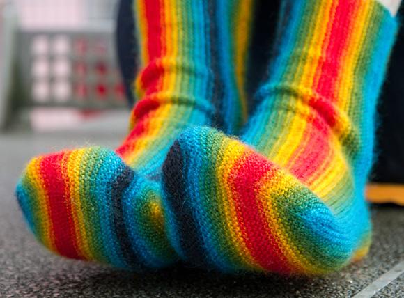 纵向织袜子 - maomao - 我随心动