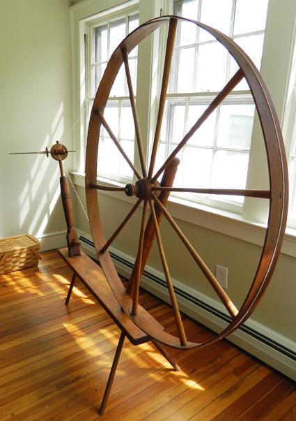 Build Spinning Wheel Plans