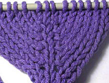 Increase Knit Stitch Beginning Row : knitty.com