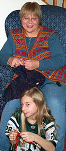 369b99d4b75 Marilyn Roberts learned to knit at 7 because her mother