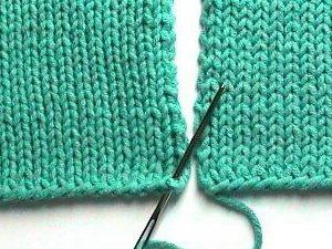 Knitting Stitches Joining Seams : knitty.com
