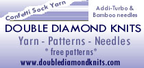 Double Diamond Knits