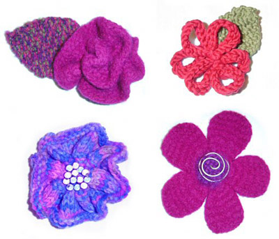 Knitty Inspiration Free Knitted Flower Patterns