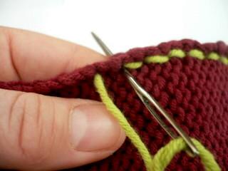 Back Stitch Seam