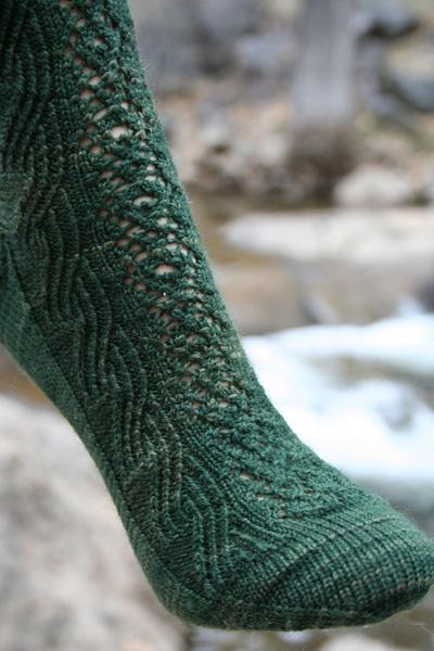 Cachoeira - Knitty, Spring 2009