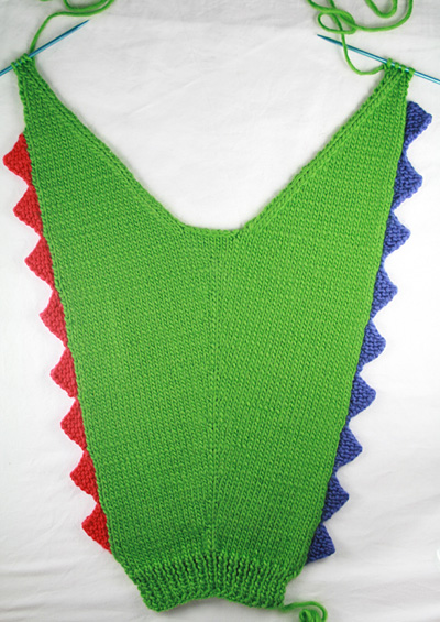 f19bb471ef363f Steggie Kids  Dinosaur Cardigan - Knitty