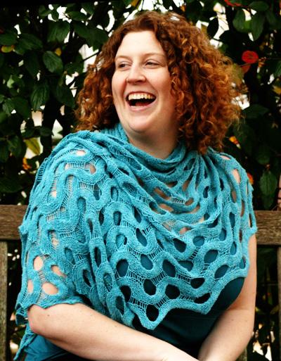 Summit 披肩围巾-原文图解 - Tina - Tina的手工编织的博客