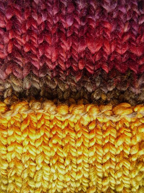 Knitting Yarn Stitches Per Inch : Knitting With Handspun: Knittyspin S+S 2011