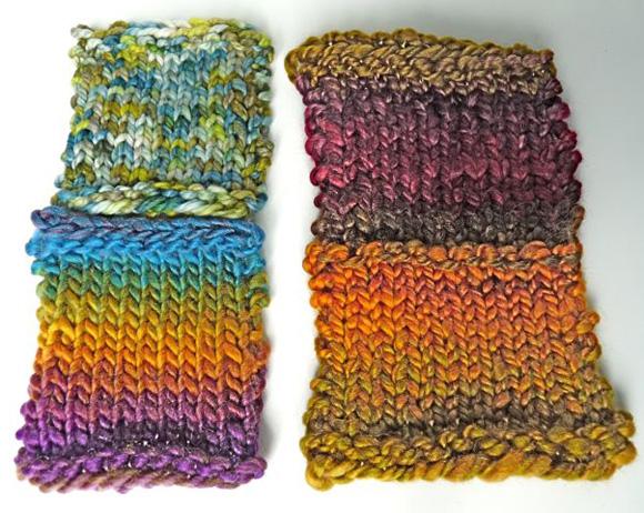 Knitting Handspun Yarn : Knitting with handspun knittyspin s