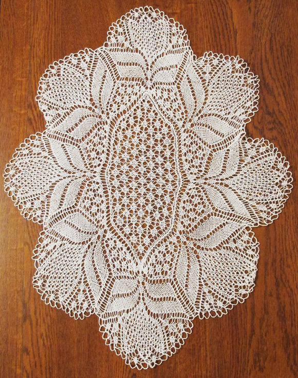 Knitting Patterns Lace Doilies : Madeira Mantilla (Ethnic Knitting Adventures): Knitty ...
