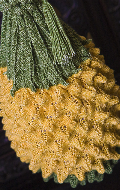 Big D Mn Pineapple Stitches In Time Knitty Springsummer 2012