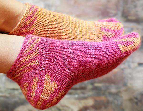 Sunberry Socklet Knitty Springsummer 2013
