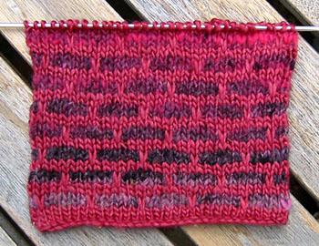 Mosaic Knitting Patterns : knitty.com