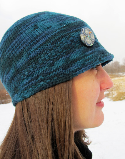 Knitting Pattern Hat Top Down : Quest hats (2 versions): Knitty Winter 2011