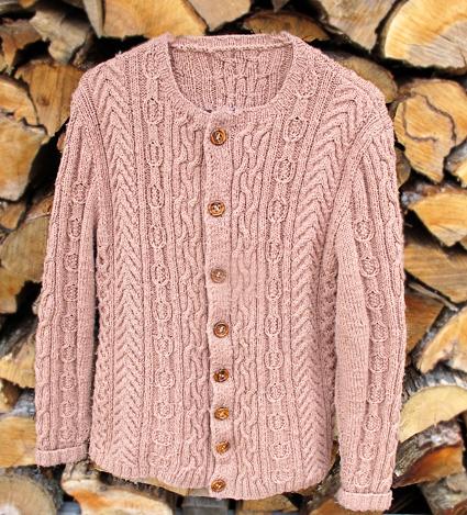 Irish Sweater Knitting Patterns : Ruth cardigan (Ethnic Knitting Adventures): Knitty Winter 2012