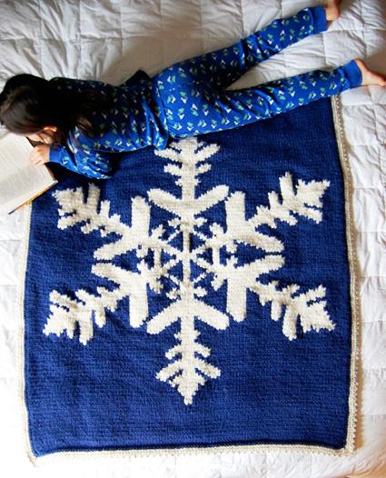 Hibernate blanket : Knitty Winter 2012