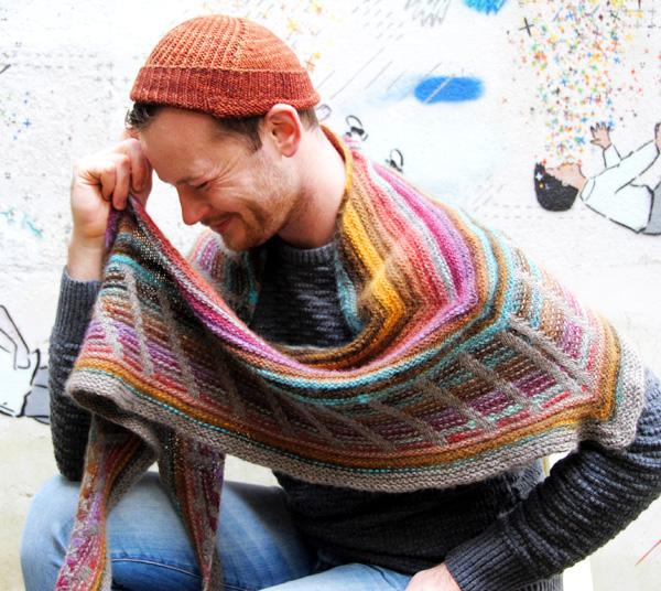Stephen West Knitting Patterns : Metalouse shawl : Knitty Winter 2012