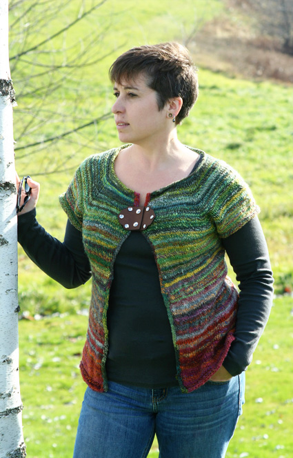 Less is More cardigans : Knittyspin Winter 2012