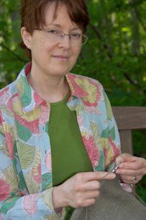 Jerusha Cardigan : Knitty Winter 2012