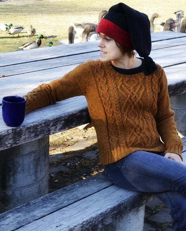 Knitty, Winter 2013 之一 - mushylia - mushylia的博客