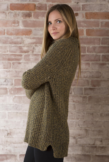 Smithfield Pullover Knitty Winter 2014