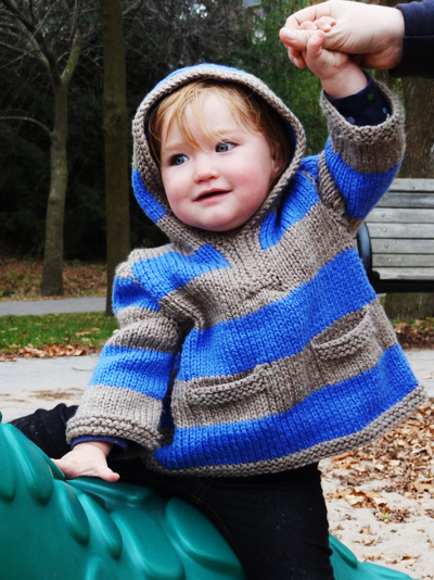 Knit Hoodie Yarn Free Knitting Patterns Crochet Patterns Yarnspiratio...