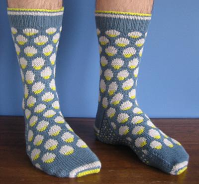 提花袜子 - 编织幸福 - 编织幸福的博客