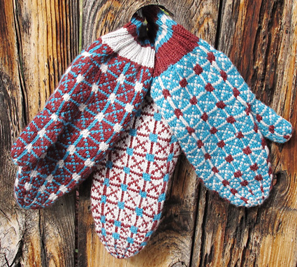 Lithuanian Knitting Patterns : Made in USA mittens (Ethnic Knitting Adventures): Knitty Winter bis 2011