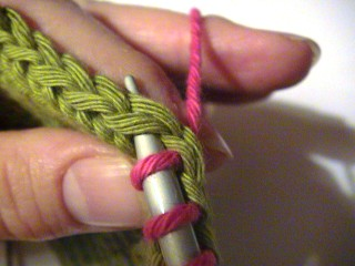 Picking Up Stitches When Knitting : knitty.com